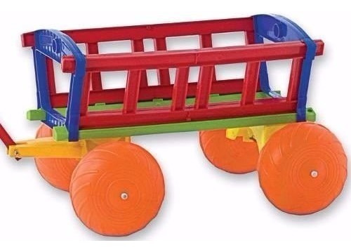 Wagon Gigante Duravit 655 Juguete Jardin