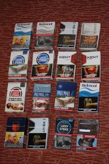 Coleccion Cajetillas Cigarrillos Con Propaganda