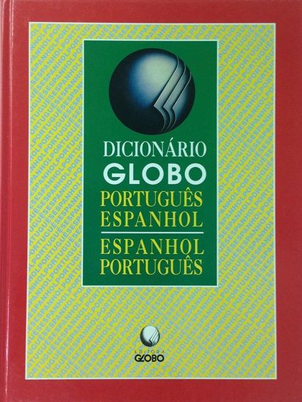 Dicionario Globo Português Espanhol - Espanhol + Brinde
