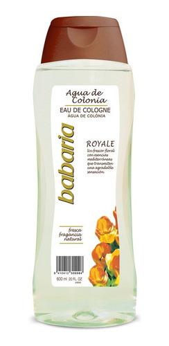 Agua De Colonia Babaria Royale 600 Ml