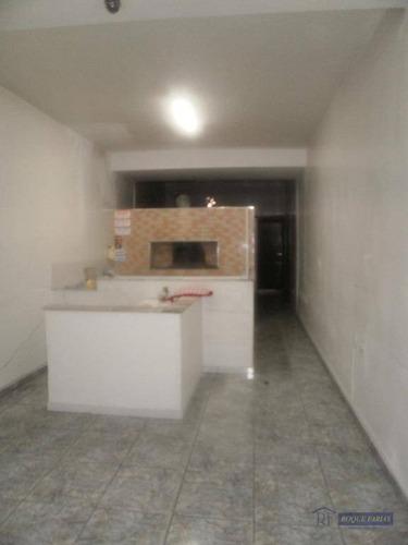 Salão Comercial Para Locação, Vila Lageado, São Paulo. - Sl0106