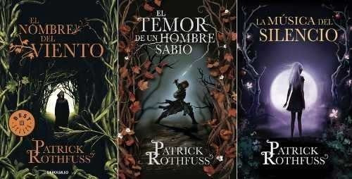 Saga Crónica Del Asesino De Reyes - Patrick Rothfuss