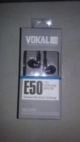Fone De Ouvido Para Músicos E50 Pro In-earphone Monitor