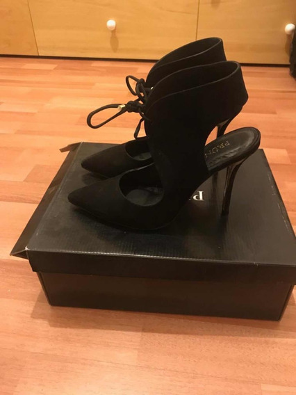 Zapatos Negros Semicerrados Negros Fiesta Prune