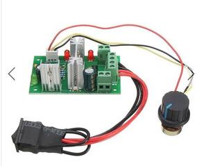 Controlador De Velocidade Reversível Dc 6-30v 200w Dimmer