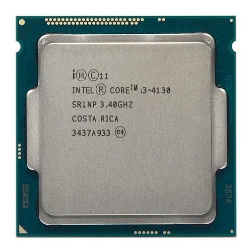 Imagem 1 de 1 de Processador Gamer Intel Core I3-4130 De 2 Núcleos E 3.4ghz!!