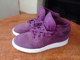 Nike Air Jordan 1 Retro Girls Bordeaux Chicago Bulls Nba