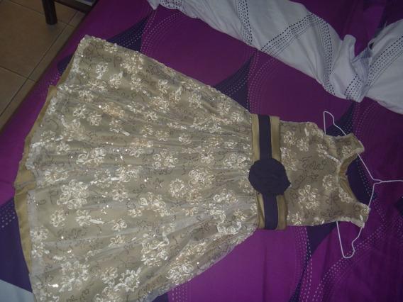 Vestido Elegante De Fiesta Niña Talla 3