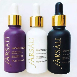 Farsali Rose Gold 24k Unicorn Elixir Volcanic Serum Full