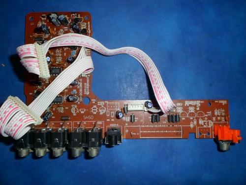 Placa  Salida Audio Video - Dvd Datsun Mod Dvd-002 A1
