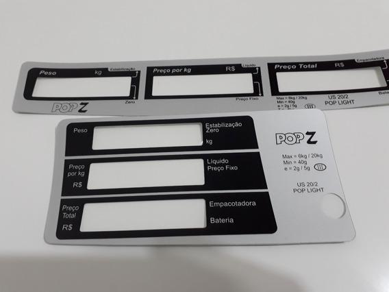 Capa Do Teclado Balança Urano Pop Z 20kg - Kit C/ 2 Capas