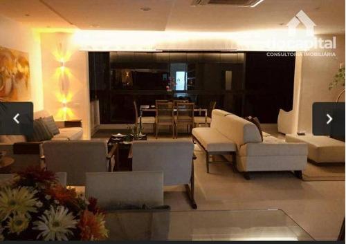 Apartamento Com 4 Quartos À Venda, 186 M² Por R$ 5.000.000 - Barra Da Tijuca - Rio De Janeiro/rj - Ap1554