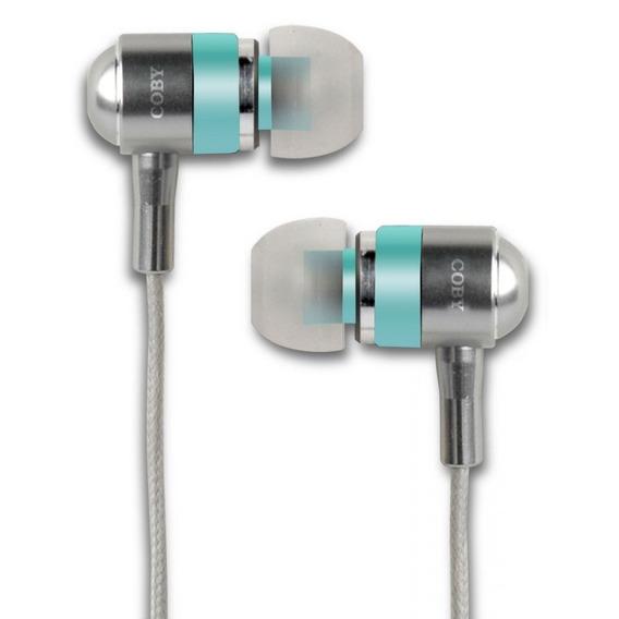Fone De Ouvido Estéreo Auriculares De Silicone Coby Cvem76