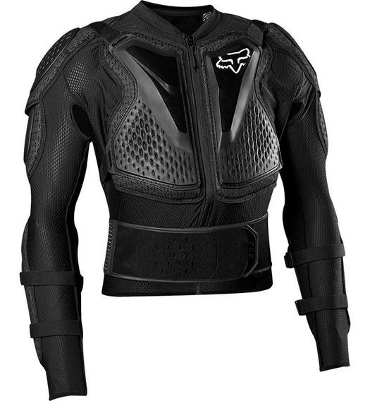Peto Integral Fox Titan Sport Jacket Mx20 Negro Motocross