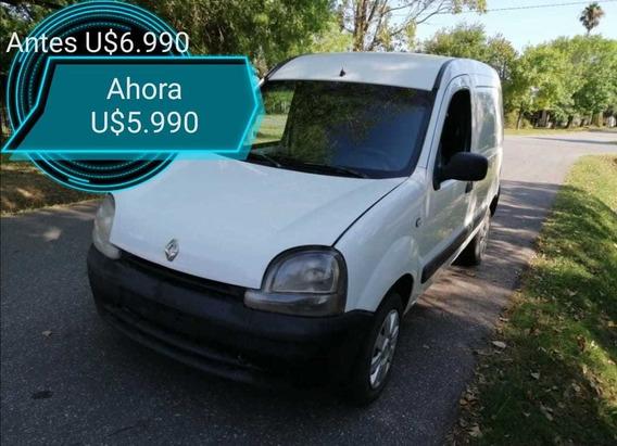 Renault Kangoo Furgón 1.6 Nafta - Aerocar - Cuotas Pesos