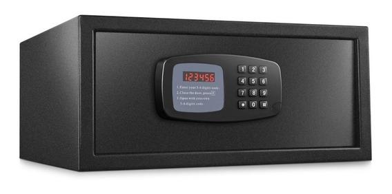 Caja Fuerte Seguridad Digital Led Notebook+teclado Y Llave