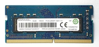 Memoria Ram Ddr4 8gb Pc4-2400t Sodimm Laptop Ramaxel