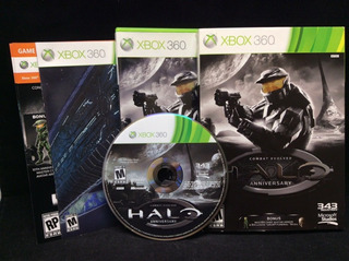 Halo Combat Evolved Anniversary -juego -xbox 360