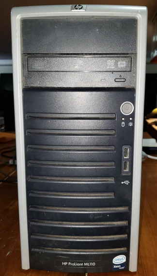 Servidor Hp Proliant Ml110 G5 Xeon 2.3ghz 3gb Ram Hd Sas