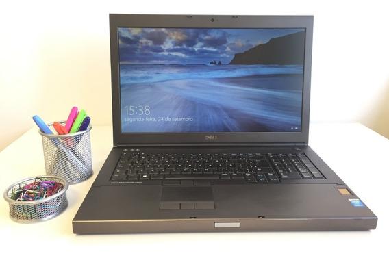 Promoção Notebook Dell M6800 I7 16gb 1tb Nvidia Garantia+nf