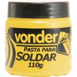 Pasta Para Soldar Estanho 110g Vonder