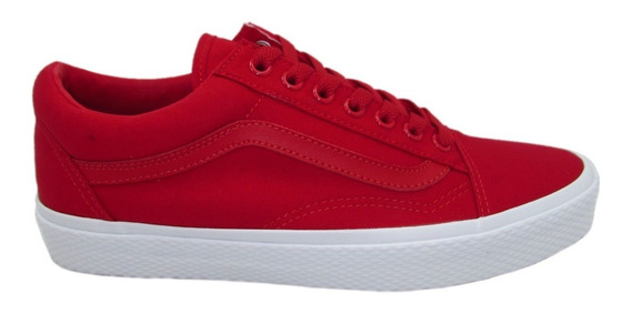 Tenis Vans Old Skool Vn0a38g1oju Waffle Wall Racing Red Rojo