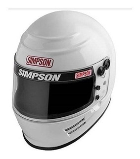 Simpson 6100051 Casco, Xx-grande, Blanco