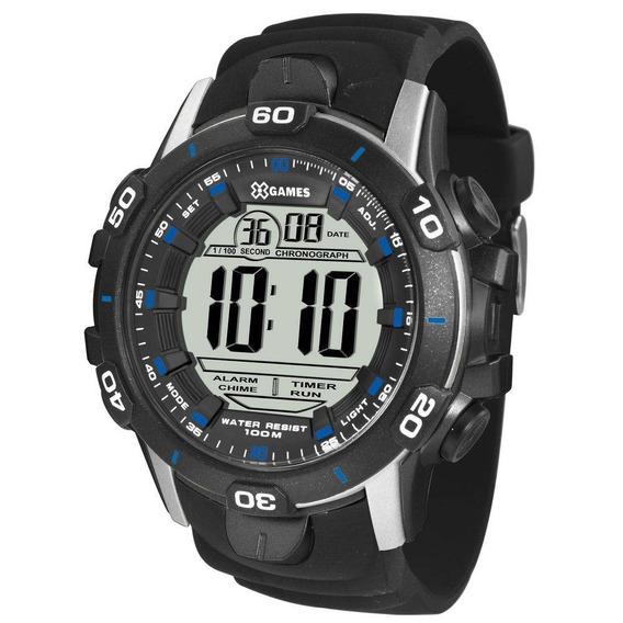 Relógio X-games Masculino Digital Xmppd457 Bxpx Cinza Azul