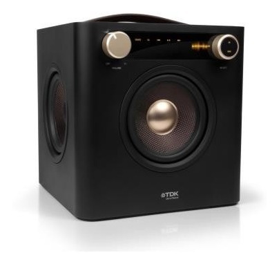 Caixa De Som Profissional Tdk Sound Cube Ap 101 P/ Conserto