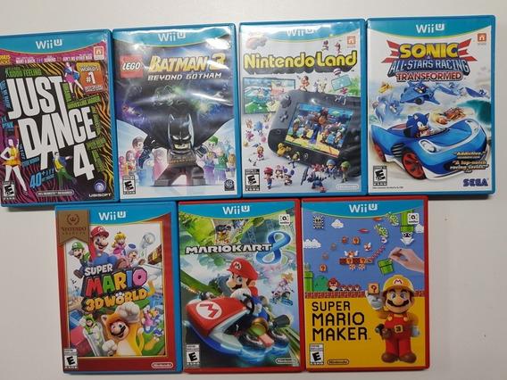 7 Jogos De Mídia-física Do Wii U