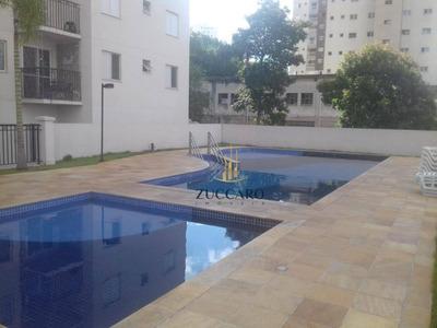 Apartamento Semi Mobiliado Com 02 Dormitórios E 01 Vaga Para Alugar, 52 M² Por R$ 1.651,11 Total/mês - Vila Augusta - Guarulhos/sp - Ap13744