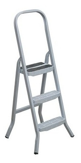 Escada Ferro Maestro 3 Degraus Fixo