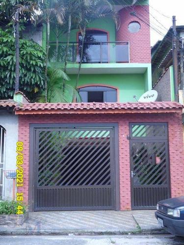 Imagem 1 de 30 de Sobrado Com 2 Dormitórios À Venda, 223 M² Por R$ 650.000,00 - Centreville - Santo André/sp - So0144