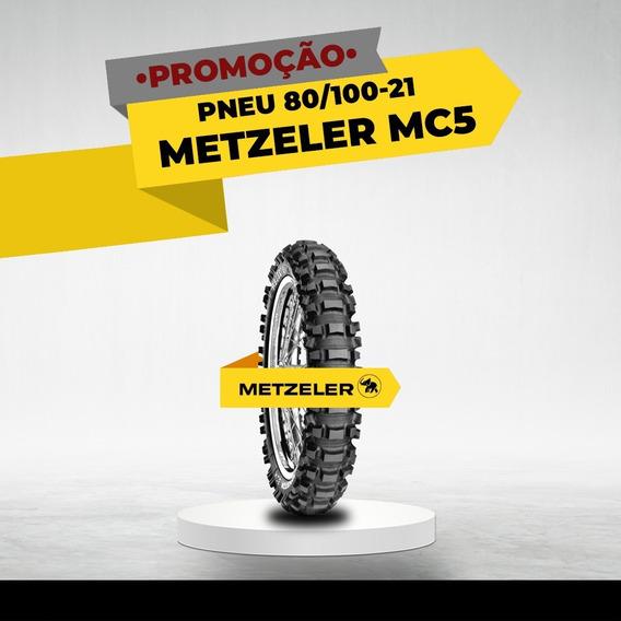 Pneu Metzeler Mc5 80/100-21 Dianteiro