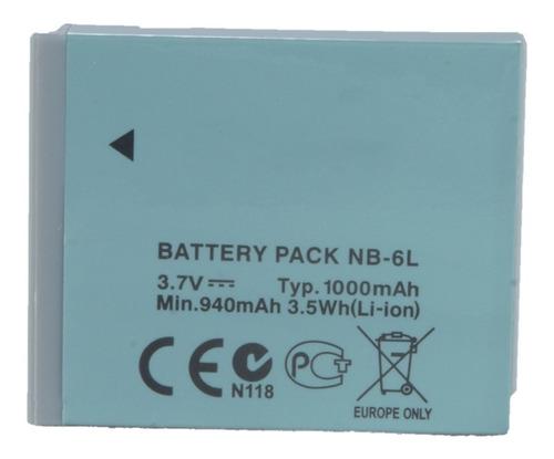 Bateria Nb-6l Para Canon Para Pow - Unidad a $38000