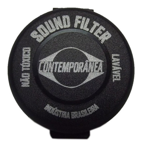 Abafador De Peles Contemporanea Sound Filter Bateria Moongel