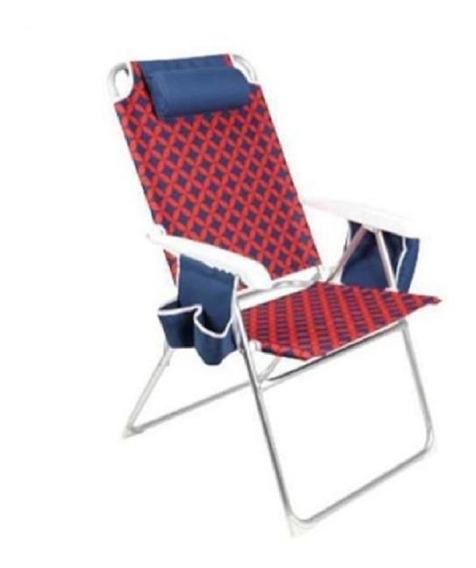 Cadeira Espreguiçadeira Dobrável Para Praia Piscina Bronze