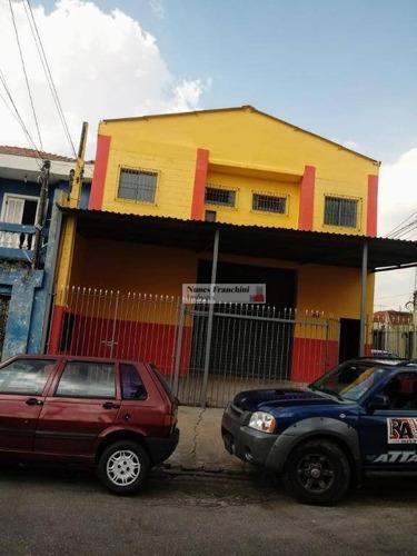 Galpão À Venda, 670 M² Por R$ 2.950.000,00 - Santa Terezinha - São Paulo/sp - Ga0042
