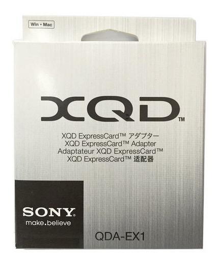 Leitor Adaptador Xqd Sony Qda-ex1 P/entrega Nfe #
