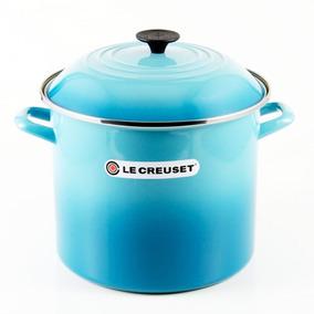 Caldeirão Stock Pot 11,3 Litros Azul Caribe Le Creuset
