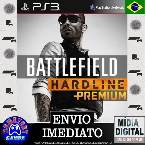 Expansão Battlefield Hardline Premium - Psn Ps3 Português Br