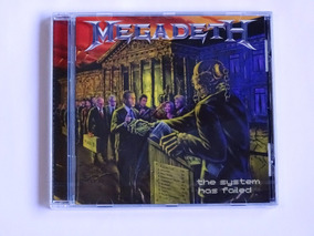 Cd Megadeth - The System Has Failed Importado Novo / Lacrado