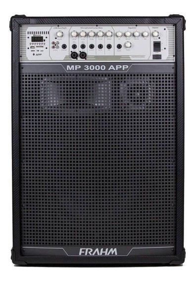 Caixa Amplificada P/ Igreja Mp3000 Bluetooth Usb, Fm - Frahm