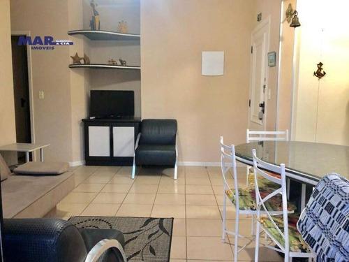 Imagem 1 de 15 de Apartamento Residencial À Venda, Centro, Guarujá - . - Ap9658