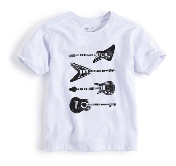 Camiseta Mini Guitarras Reserva Mini