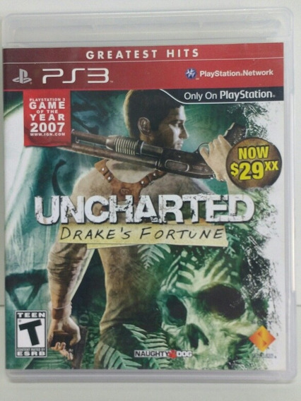 Ps3 - Uncharted - Drake