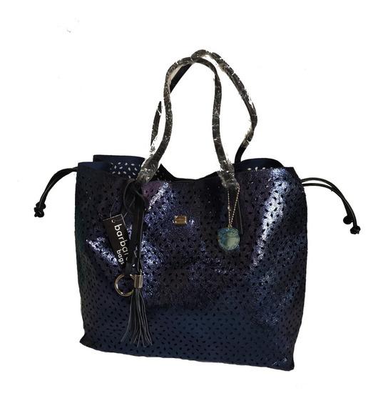 Cartera Barbara Bags Azul Xu115