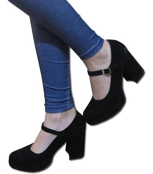 Zapatos Guillermina Talles Grandes N35 Al 44 Invierno 2019