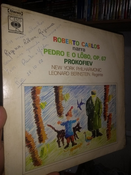 Roberto Carlos Narra Pedro E O Lobo - Frete Grátis