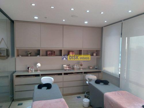 Imagem 1 de 14 de Sala À Venda No Condominio Jurubatuba Empresarial, 42 M² Por R$ 265.000 - Centro - São Bernardo Do Campo/sp - Sa0139